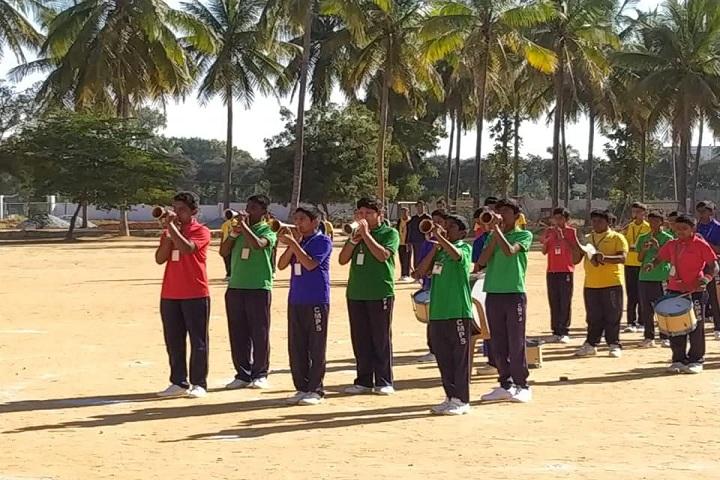 C Muniswamy Public School-Band