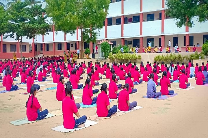 C Muniswamy Public School-Yoga