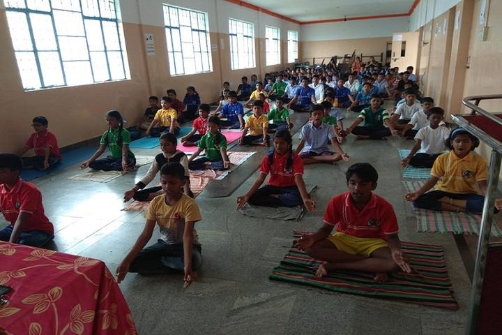 Cambridge International Public School-Yoga Day