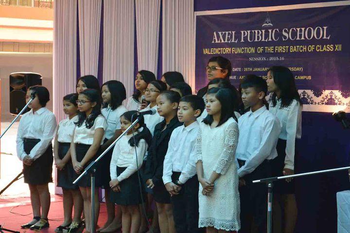 Axel Public School-Singing