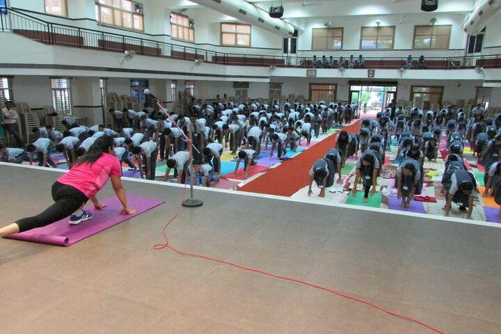 Canara High Schoo-Yoga