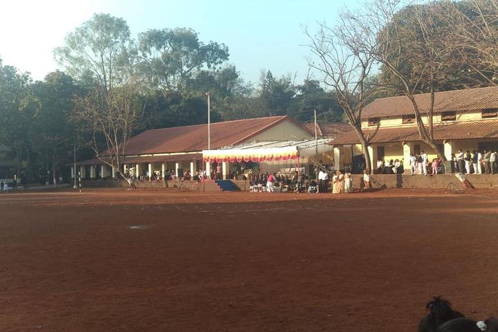 Cantonment Board English Medium School-Ground
