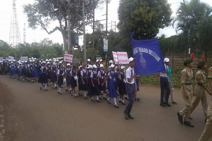 Cantonment Board English Medium School-Rally