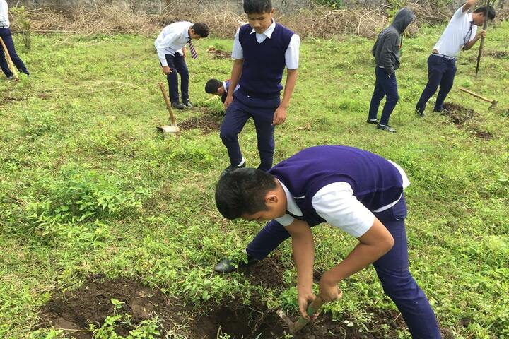 Central School For Tibetans-Environment Day