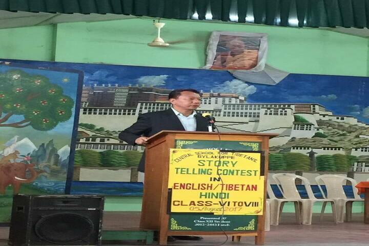 Central School For Tibetans-Speech