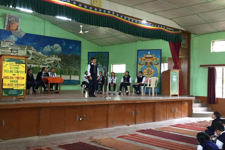 Central School For Tibetans-Story Telling