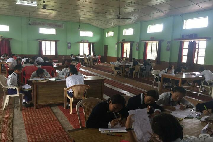 Central School For Tibetans-Study Room