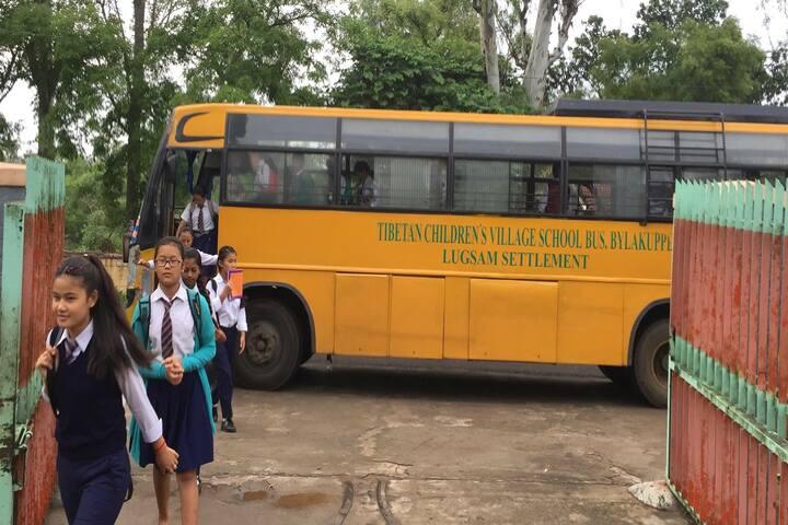 Central School For Tibetans-Transport