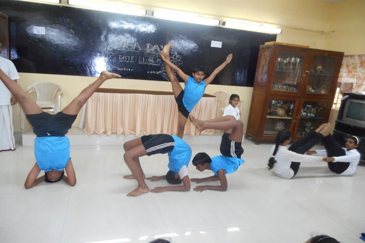 Cftri School-Yoga