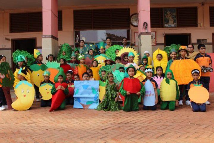 Chinmaya English Primary School-Environment day