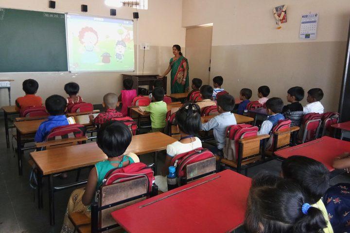 Chinmaya Vidyalaya-Classroom