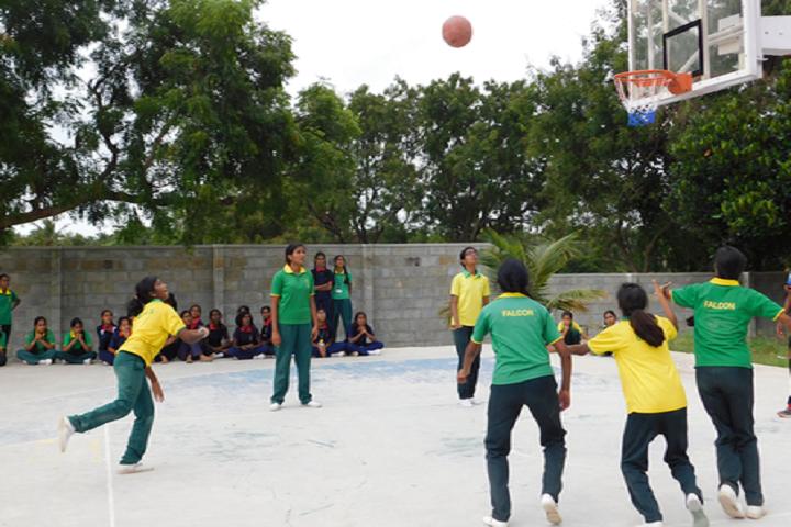 Chinmaya Vidyalaya-Basketball
