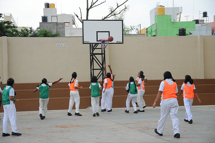 Chitrakoota School-Basketball