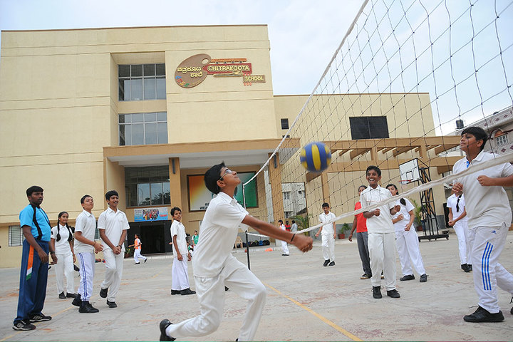 Chitrakoota School-Volleyball