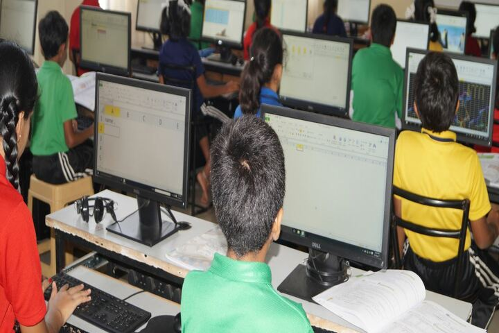 Christ Public School-Computer lab