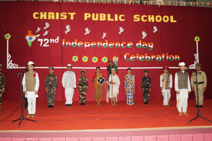 Christ Public School-Independence day