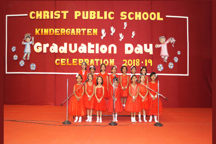 Christ Public School-KG Graduation day