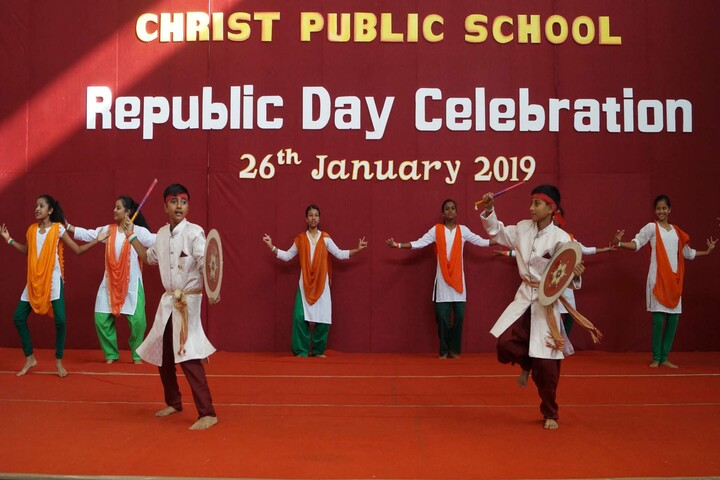 Christ Public School-Republic day