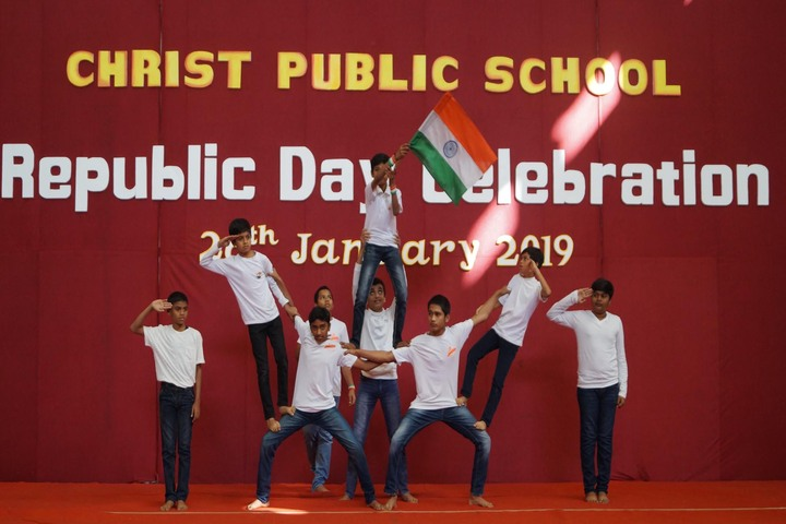 Christ Public School-Republic day1