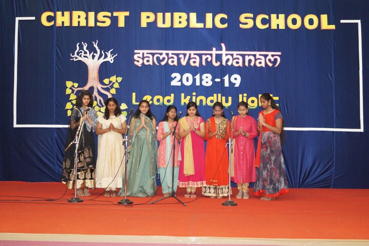 Christ Public School-Singing