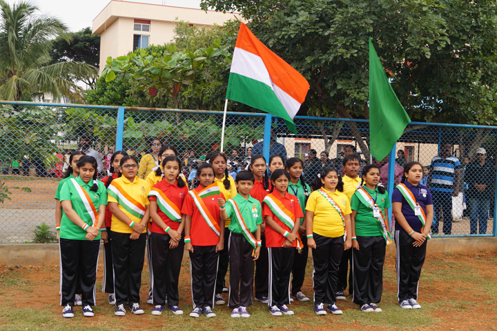 Christ Public School-National day celebrations