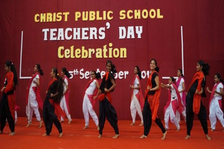 Christ Public School-Teachers day