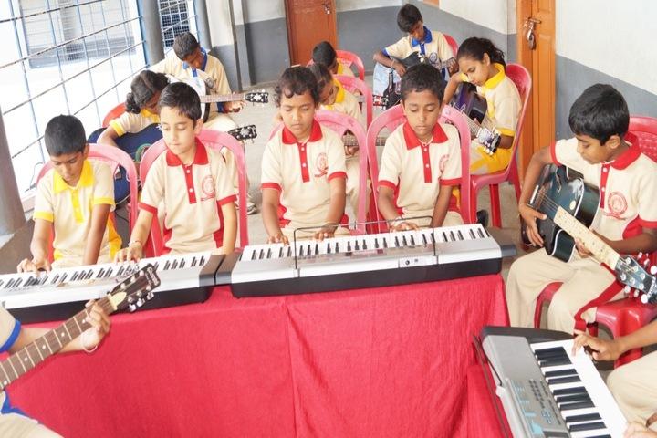 Christa Jyothi School-Music Room
