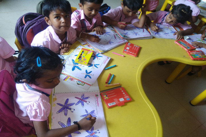 Citizens Public School-Colouring Activity