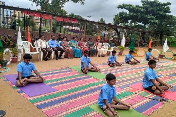CKS English School-Yoga Day