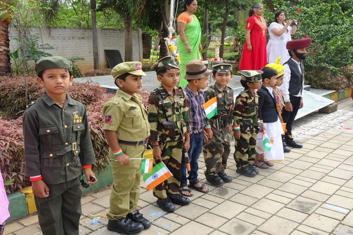 Concorde International School-Indpendence Day