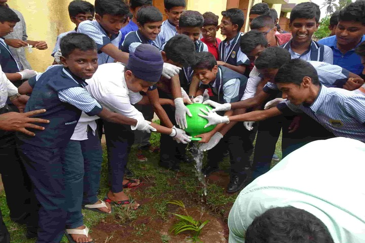Concorde International School-Tree Plantation