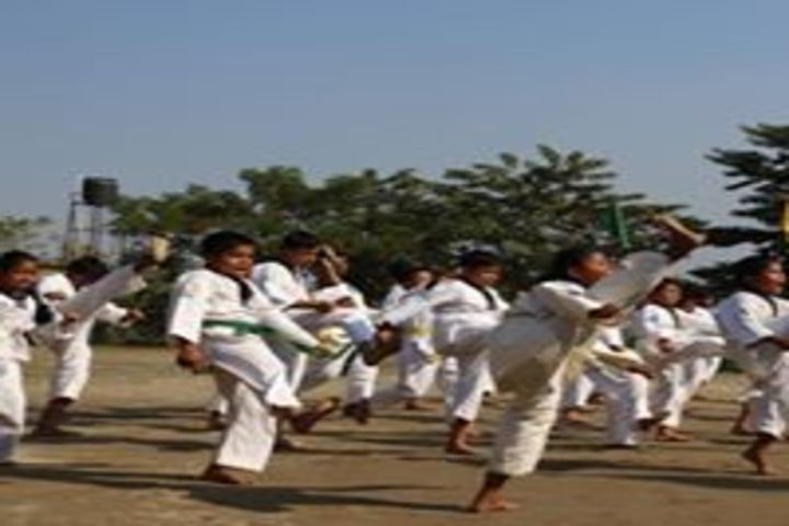 Brahmaputra Valley English Academy-Karate