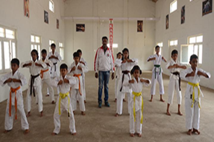 Dayananda Arya Vidya Public School-Karate