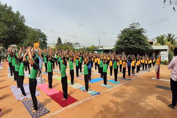 Deeksha Heritage School-Yoga