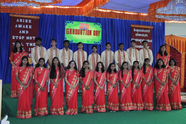 Deeksha High School-Graduation Day