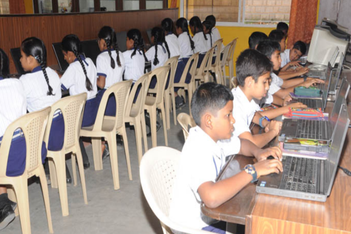 Deeksha High School-IT Lab