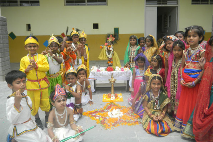 Deeksha High School-Krishnastami Celebration