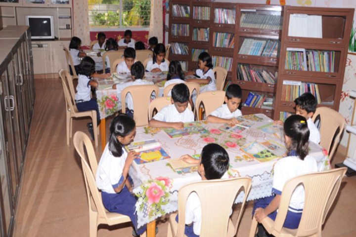 Deeksha High School-Library