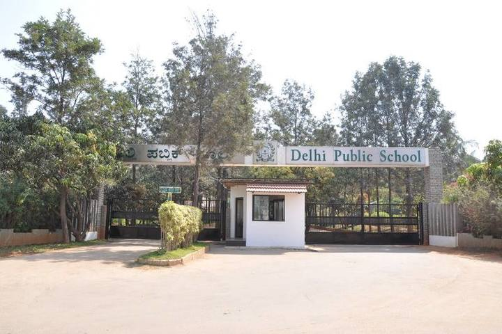 Delhi Public School-Enterance View
