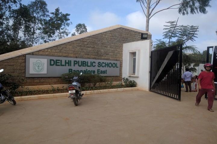 Delhi Public School-Gate View