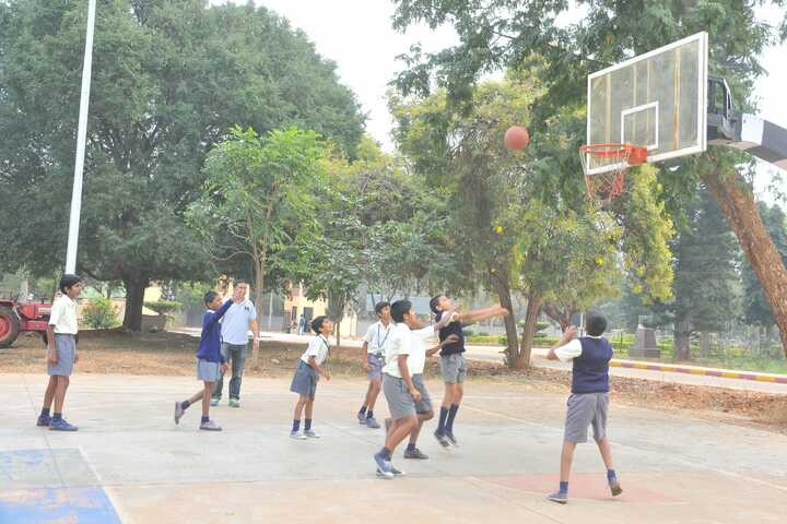 Demonstration School-Basketball Court