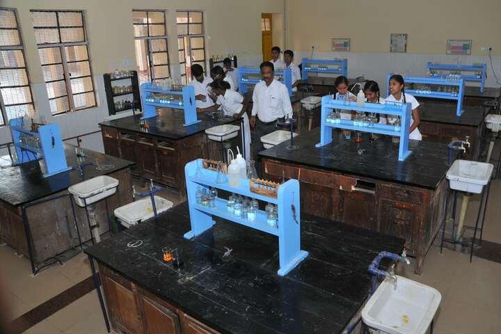 Demonstration School-Chemistry Lab