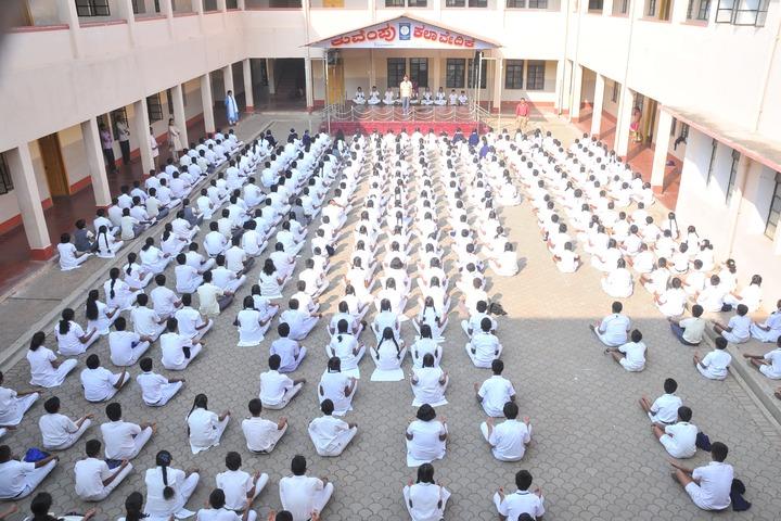Demonstration School-Meditation