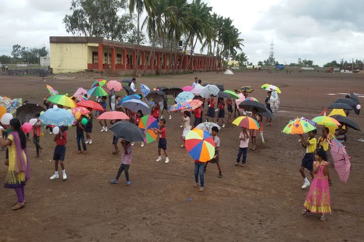 Dhanapal P Khemalapure Central School-Rain Activity