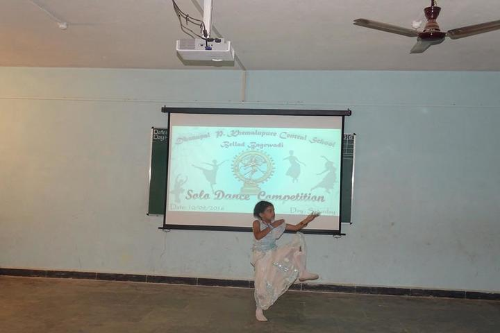 Dhanapal P Khemalapure Central School-Solo Dance Competition