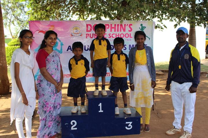 Dolphins Public School-Sports Meet Winners