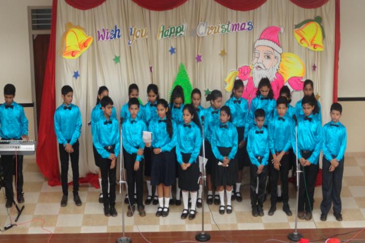 Don Bosco English Medium School-Christmas Celebrations