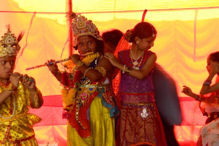 Cambridge Public School-Krishnashtami Celebrations