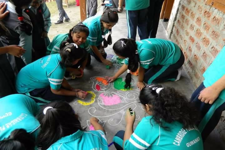 Cambridge Public School-Rangoli