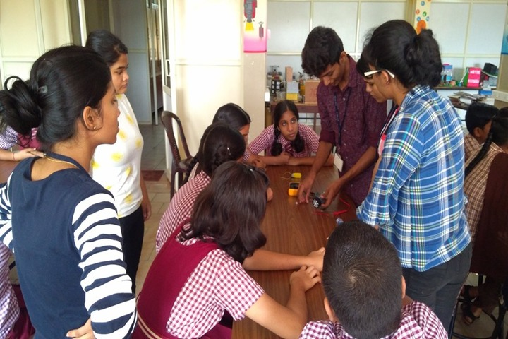 Dr N Shankara Adyanthaya Memorial English Medium High School Nitte-Physics Lab